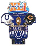 Super Bowl XLI Oversized Commemorative Pin - Colts Champs