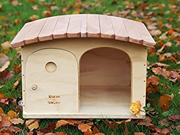 Caseta para perro con gatos para techo outdoor tiragraffi Gina tg. L WP termoregolata profesional, para exterior Blitzen Made in Italy: 100%: Amazon.es: ...