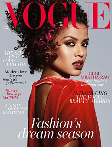 Vogue UK Magazine (April, 2018) Gugu Mbatha-Raw Cover