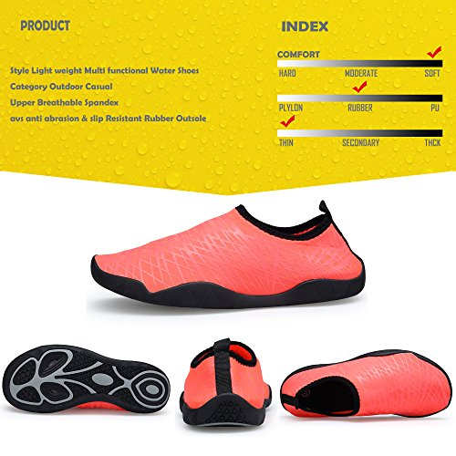 Women's Dry Sports Water and Quick Lightweight SIKELO Pink Men Shoes 6Xq7Ynt