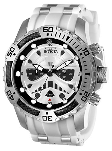 (Invicta Men's 26183 Star Wars Quartz Multifunction Silver Dial)