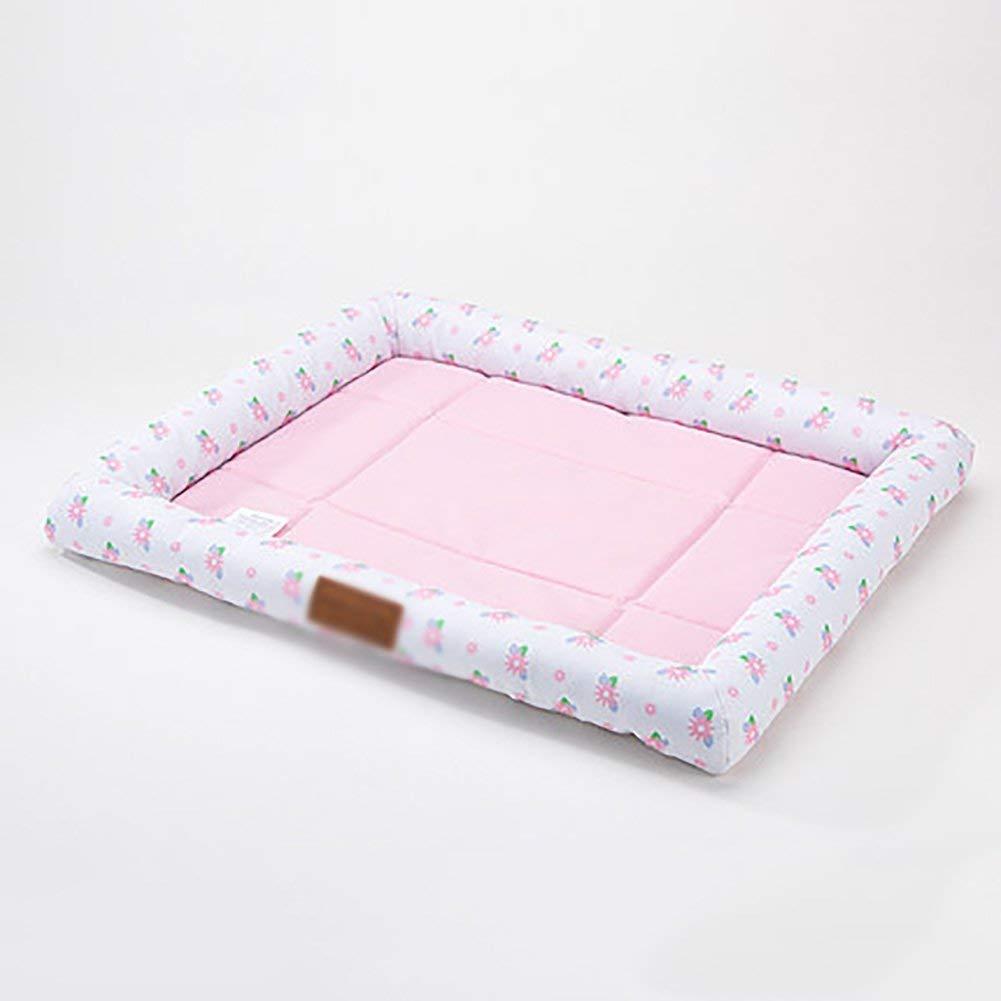 ANDRE HOME Dog Cushion Bite Resistant Pet Mat Summer Cat Mat Kennel Scratch Resistant (Size   L) Pet Bed Blanket