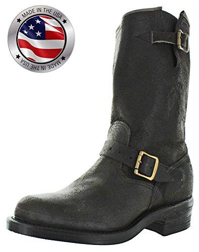 Chippewa Motorsykkel Menns Ingeniør Lærstøvler 27921 Black Størrelse 7,5