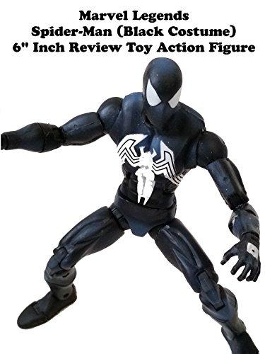 Review: Marvel Legends Spider-Man (Black Costume) 6