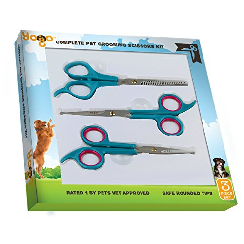Pet-Yogo-Grooming-Scissors-Kit-Professionally-and-Easily-Groom-Your-Dogs-Cats-and-Pets-with-these-3-Round-Tip-Scissors-Includes-Thinning-Facial-and-Full-Body-Scissors-Grooming-Scissors-Kit
