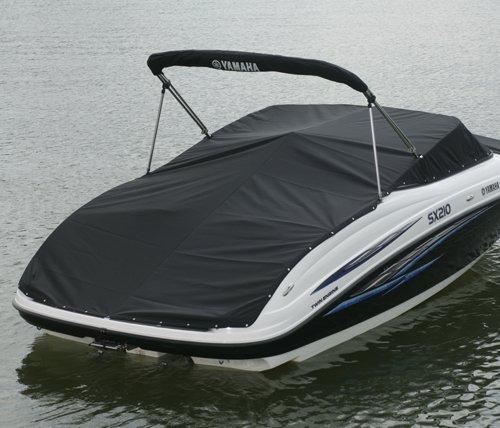 Yamaha AR210 & 212X Series Cockpit Cover NO Snaps Charcoal (2012-2013)
