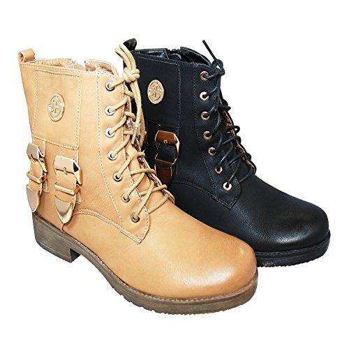 Beige Damen Boots Juliet Juliet Damen Biker Biker wnCxq0TYOf