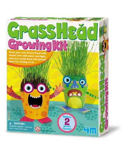 4M Grass Head Growing Kit