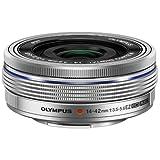 Olympus 14-42mm f3.5-5.6 EZ Interchangeable Lens for Olympus/Panasonic Micro 4/3 Digital Camera, Silver