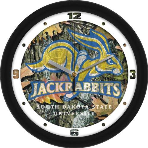 SunTime NCAA South Dakota State Jackrabbits Wall Clock - Camo
