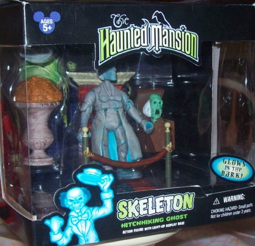 Disney The Haunted Mansion Skeleton Hitchhiking Ghost action figure