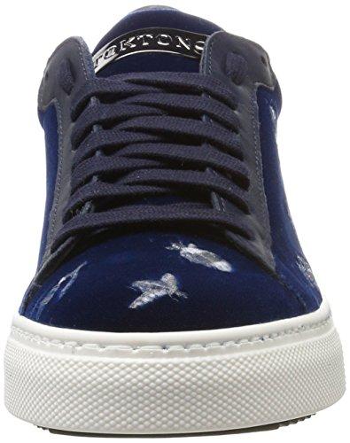 39 Sneaker Blu Stokton Donna EU Basse Scarpe da CDF Bluette Ginnastica zgHw6pTq