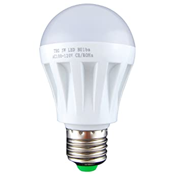 15 W E27 5 W LED Globo Bola Bombilla Lámpara Foco Downlight 110 V 120 V