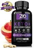 Keto Diet Weight Loss Pills Supplements + Apple Cider Vinegar Capsules w/BHB Salts for Women Men - Appetite Suppressant Belly Fat Burner - ACV Capsules Exogenous Ketones Carb Blocker - Burn Fat Fast
