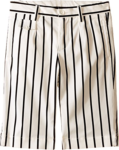 Dolce & Gabbana Kids Baby Boy's Striped Shorts (Toddler/Little Kids) Black/White Stripe Print Shorts by Dolce & Gabbana