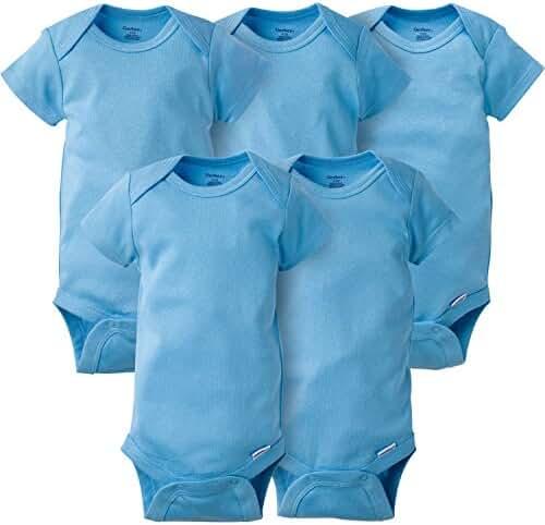 Gerber Baby Boys' 5 Pack Onesies