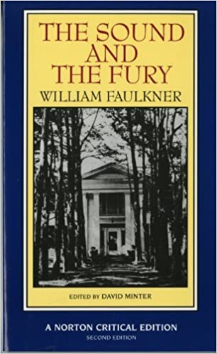 Amazoncom The Sound And The Fury Norton Critical Editions  Amazoncom The Sound And The Fury Norton Critical Editions   William Faulkner David Minter Books