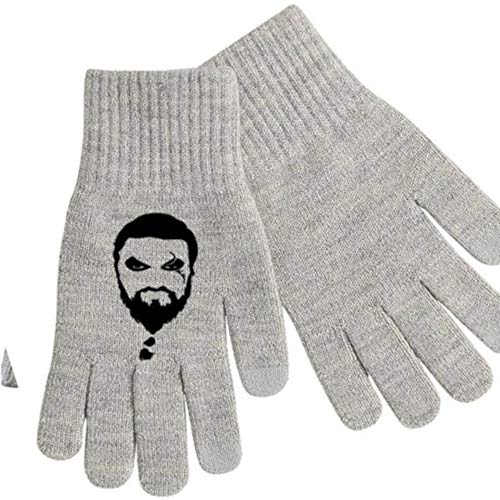 Game of Thrones Khaleesi Khal Drogo Touch Screen Compatible Texting Stretch Knit Gloves Winter Clothes Horror Halloween