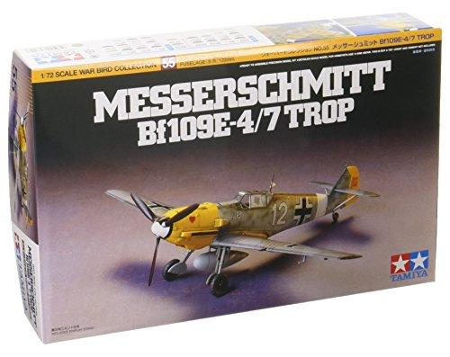 Tamiya Messerschmitt Bf109e-4/7 Trop – 1:72 Scale Aircraft