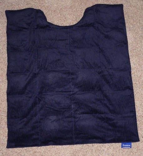 """Weighted Blanket Medium Navy Blue 12 lbs 42"""" x 54"""" by Unknown (Image #2)"""