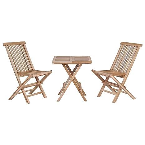 Outdoor Inc Petit mobilier de Jardin en Bois Massif avec ...