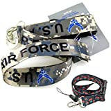 "1 X Official Licensed Products Military Beige ""Air Force"" Lanyards"