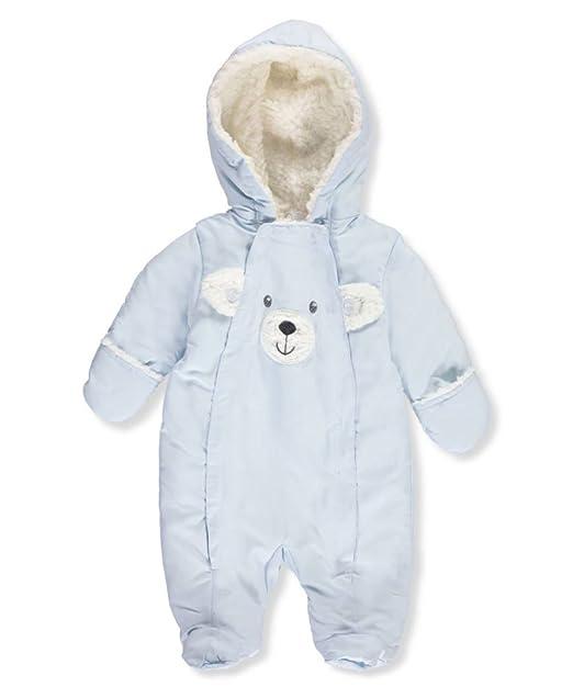 7352abdda Quiltex Baby Boys  Pram Suit - light blue