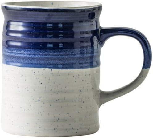 FX Gran Capacidad de la Taza de cerámica Taza Retro Taza de café 500ml 5 Estilos Bebiendo Tazas de Tazas de Desayuno for su Uso en lavavajillas y microondas (Color : Bronce)