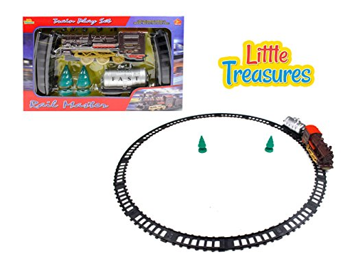 gine sleek Train Educational Play set toy (Steam Rails)