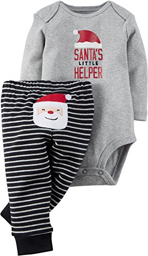 Carters Baby Christmas 2 Piece Bodysuit product image