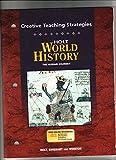 World History : The Human Journey - Creative Teaching Strategies, Holt, Rinehart and Winston Staff, 0030657385
