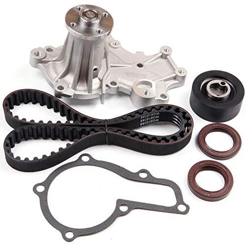 SCITOO Engine Timing Belt Kit Fits 1989-1995 Geo Tracker Suzuki Sidekick SOHC 1.6L 8V G16KC