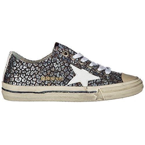 Sneakers 2 Golden Cuir Femme v Goose Baskets Gris Star Chaussures en rAYtYz
