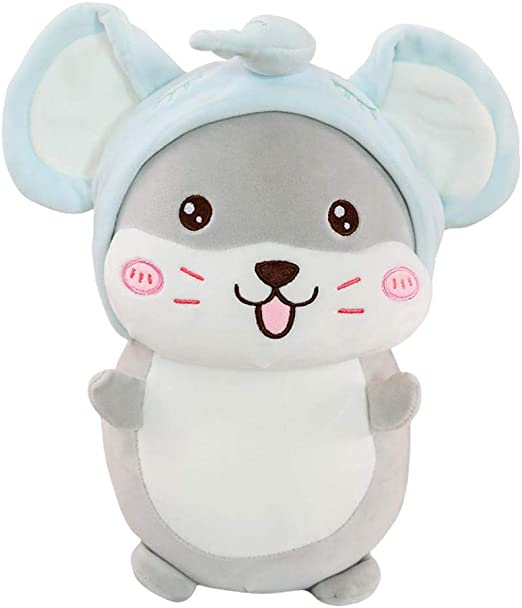 ZZKHSM Disfraz Lindo ratón muñeca Zodiaco Rata Mascota Juguete ...