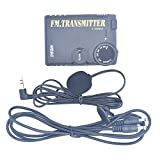 1PC BA1404 87-108MHz FM Stereo Not PLL Transmitter with Audio Transmission Cable and Lavalier Microphone