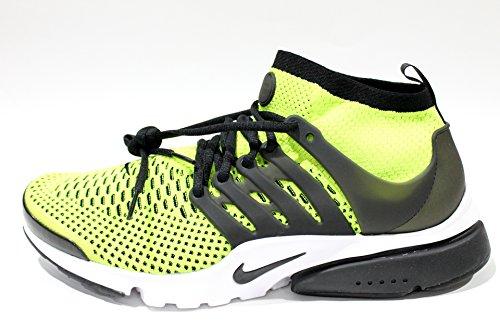 Nike Hommes Presto Air Flyknit Chaussures Ultra Course, Bleu, Noir 42 Eu