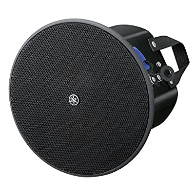Yamaha VXC4 VXC Series Full-Range 4 Inch Ceiling Loudspeaker - Black Pair by Yamaha