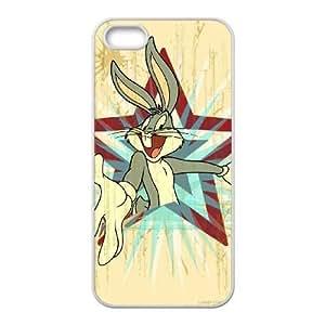 Caja del teléfono celular Looney R6K9Jy Funda LG G 4 4S funda fundas caja del teléfono blanco P7I8MX plástico de moda