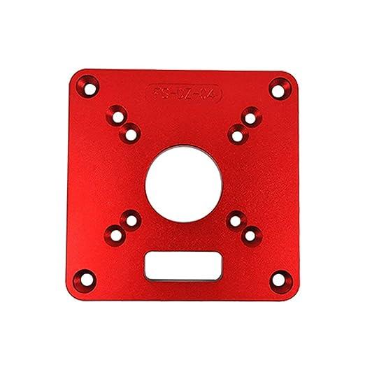 DF-ES Mesa de enrutador de aluminio universal Placa de inserción ...
