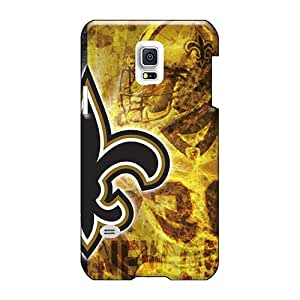 Scratch Protection Hard Cell-phone Case For Samsung Galaxy S5 Mini With Customized Vivid New Orleans Saints Pattern WandaDicks