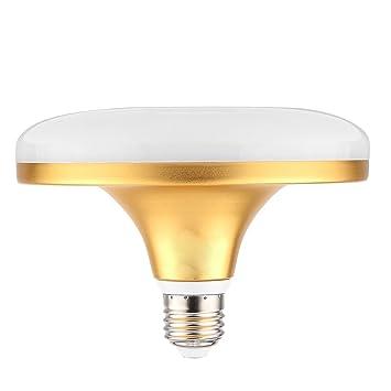 BMY Bombillas LED para el hogar, E27 24W 48LED 5730SMD 2100-2350 LM Blanco cálido Frío Blanco Lámpara UFO 220-240V Bombillas (Tamaño: Blanco frío): ...