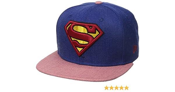 super popular a664f 45fc1 New Era Cap Men s Hero Heather 2 Superman 9Fifty Snapback Cap, Blue Red,  One Size at Amazon Men s Clothing store