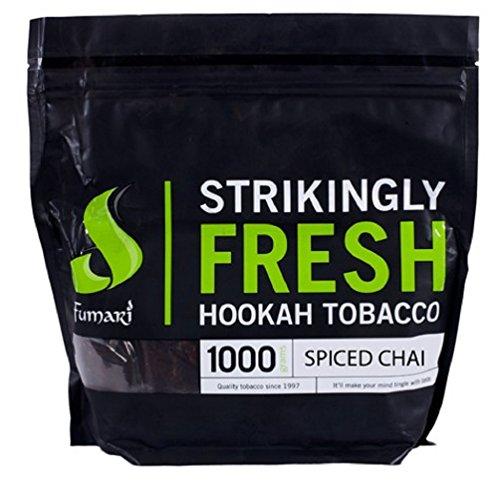 Fumari Shisha Hookah Premium Flavors 1kg/1000g - Non Tobacco (Spiced Chai) by Standpoint