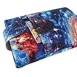 Handmade Space Galaxy Nebula Fabric Book Sleeve - Padded - Perfect For Hardbacks Or Large Paperbacks