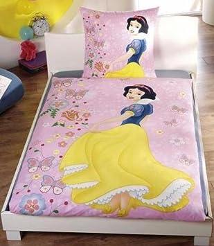 Parure Housse Couette Princesse Disney Blanche Neige 100 Coton