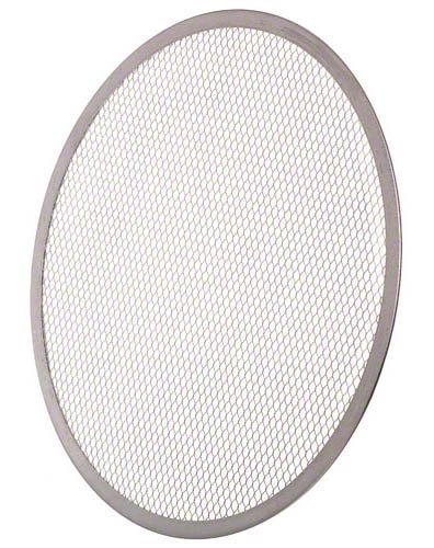 Update International PS-14 Aluminum Pizza Screen, 14-Inch - Set of 6