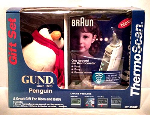 Braun IRT 3520 In Ear Thermoscan Child's Thermometer and ...