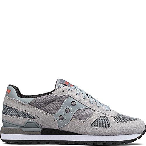 Saucony Originals Men's Shadow Original Fashion Sneaker, Grey, 8 M US