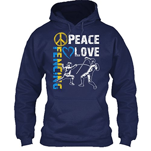 Peace And Love Hooded T-Shirt - 5