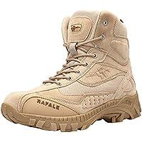 Clearance Men's BreachTactical Lace-up Boots,Military Desert Desert Boat,Men Lightweight Work Shoes Combat Boots